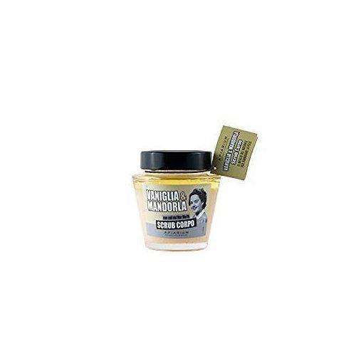 APIARIUM Scrub Corpo Vaniglia & Mandorla - Elimina delicatamente le cellule morte - Rivitalizzante effetto pelle vellutata - 380 gr Yumi Bio Shop