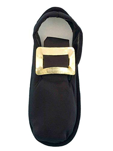 Forum Men's Pilgrim Costume Shoe Cover, Black, One Size]()