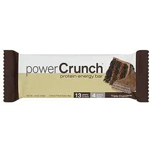 Power Crunch Protein Energy Bar Triple Chocolate, 40 G