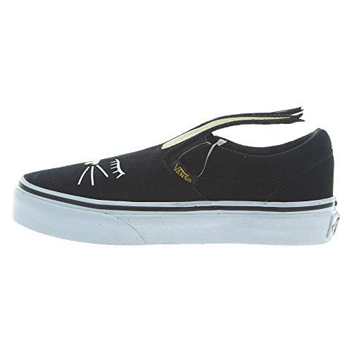Vans Slip-On Bunny Bla Little Kids Style: VN0A3MVY-ZX1 Size: 13.5 Black/Gold -