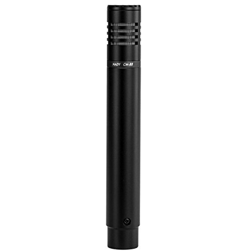Nady CM-88 Condenser Microphone - Designed for overhead applications for cymbals, acoustic guitars, and vocals (Microphone Piano Recording)