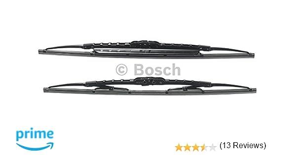 Bosch 3397118561 Twin Spoilers 500S - Limpiaparabrisas (2 unidades, 500 mm y 500 mm)