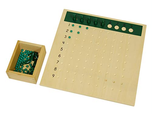 (LEADER JOY Montessori Division Bead Board)