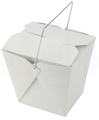 White Asian Take Out Boxes - 6