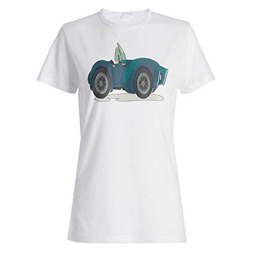 Vintage Auto Autos Alte Neuheit Lustig Damen T-shirt a868f