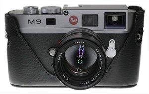 Black Label Bag M8/M9 Half Leather Case for Leica M9, M8 or M8.2