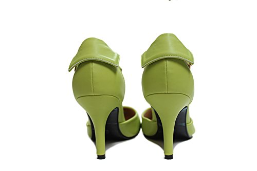 CFP de mujer tacón Zapatos Verde rqrv5fxCHW