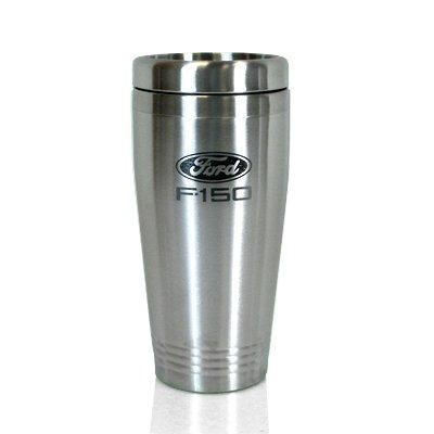 - Au-Tomotive Gold, INC. Ford F-150 Brushed Stainless Steel Travel Mug