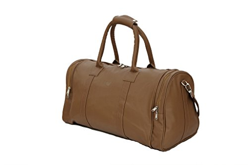 MBOSS Faux Leather Travel Duffel Bag – TB 011