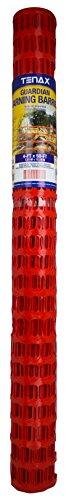 Tenax Guardian Economy Safety Fence, Orange, 4-Feet by 50-Feet