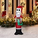 (Holiday Time Jack Skellington Nightmare Before Christmas Inflatable, 5.5)