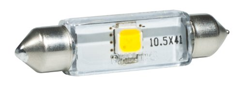Philips 43mm festoon X-tremeVision LED 6000K Interior light (Pack of 1) (Ram Parts Dodge 1500 99)