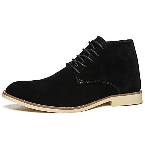 morbide stringate 39 Dimensione da Scarpe Walking suola Colore Chukka Casual Scarpe antiscivolo EU Nero Boots uomo Ywqwdae Classic 0ZqBT0x