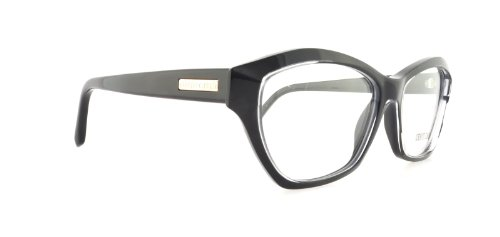 Roberto Cavalli Eyeglasses RC757 Royal 005 Size:55 Crystal/Black - Cavalli Glasses