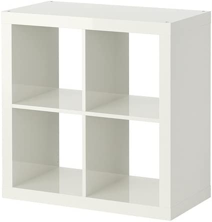 Ikea Expedit Etagere Blanc Brillant 79x79 Cm Amazon Fr