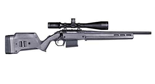 Magpul Industries Hunter American Gray Polymer Fits Ruger American Short Action Rifles Stock