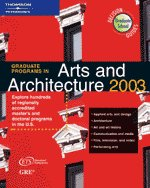 Graduate Programs in Arts and Architecture 2003
