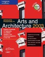 Graduate Programs in Arts and Architecture 2003