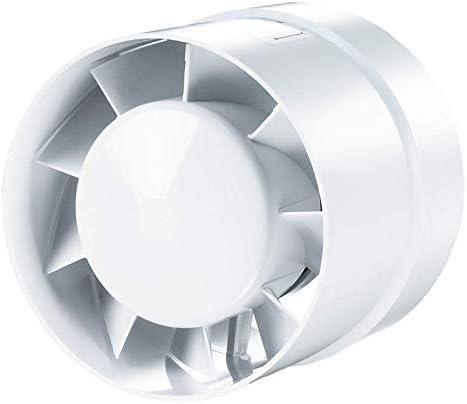 VKO Turbo 150mm VKO 12 V//Turbo//L Axialer Rohrl/üfter Ventilator Badl/üfter Hochleistungsmotor Kugellagermotor Sicherheitsspannung 100//125 150 mm
