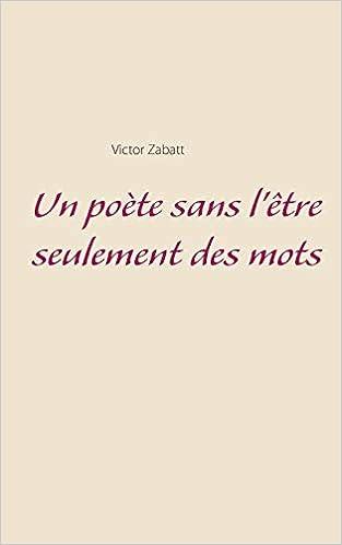 poète sans l'être
