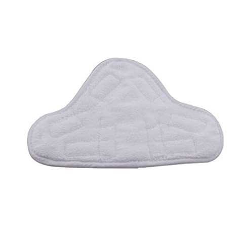 Deneve Handheld Steam Cleaner Cloth Mop Pads - Washable Replacement 5-pack (Potable Bathtub)
