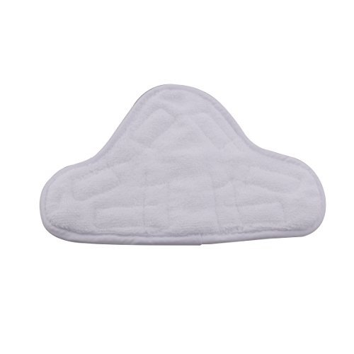 Deneve Handheld Steam Cleaner Material Mop Pads - Washable Replacement 5-pack