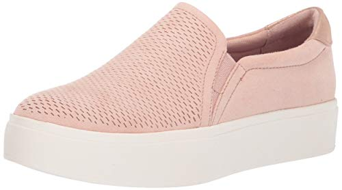 Dr. Scholl's Shoes Women's Kinney Sneaker, Maple Sugar Microfiber Cool, 8 M US ()