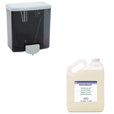 - KITBOB40BWK430CT - Value Kit - Dermabrand Antibacterial Liquid Soap (BWK430CT) and ClassicSeries Surface-Mounted Soap Dispenser, 40 Ounce (BOB40)