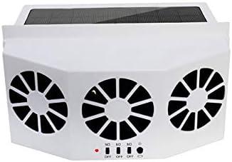 Iycorish Ventilador para Automóvil Ventilación Solar para ...