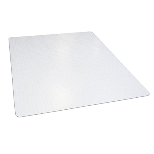 "Dimex 46""x 60"" Clear Rectangle Office Chair Mat For Low Pile Carpet, Made In The USA, BPA And Phthalate Free, C532003G"