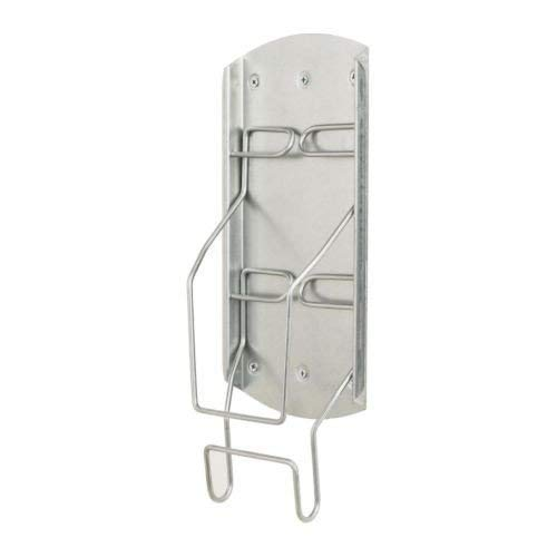 BBLP Wall Mounted Iron Holder Bracket Hanger Tidy Storage, Length:34 cm Width:17 cm Height:5 cm Weight:0.61 kg Ikeaa