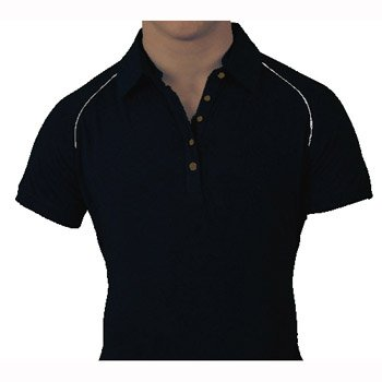 Golf Bambooty, tenis Polo, color Negro - Firestone Black, tamaño ...