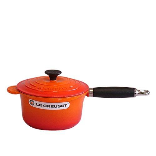 [ルクルーゼ] Le Creuset ソースパン フェノールハンドル 18cm ORANGE(オレンジ) [並行輸入品]   B00HFQRRTE
