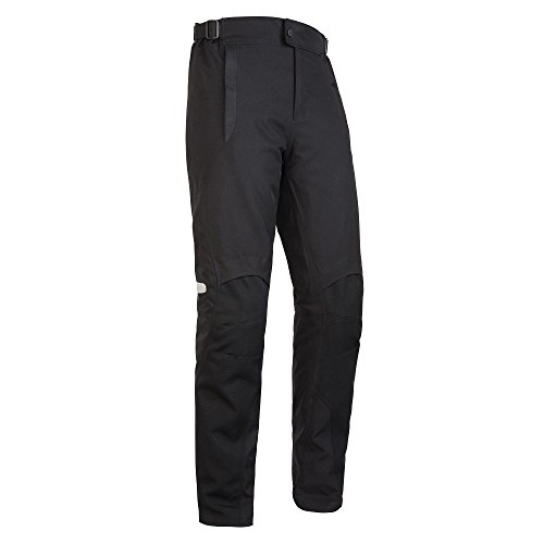 SEDICI Women's Adriana Waterproof Motorcycle Pants - LG, Black by SEDICI