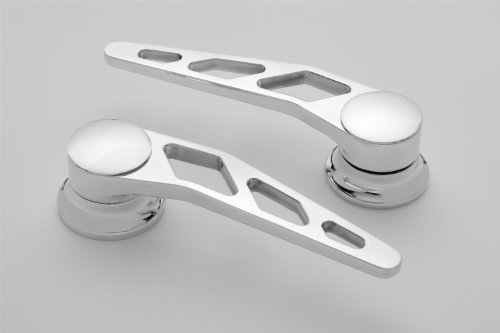 (Lokar IDH-2009 Polished Billet Aluminum Door Handle - Pair )
