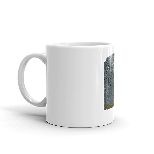 May You Rest in Peace Mug 11 Oz White Ceramic -