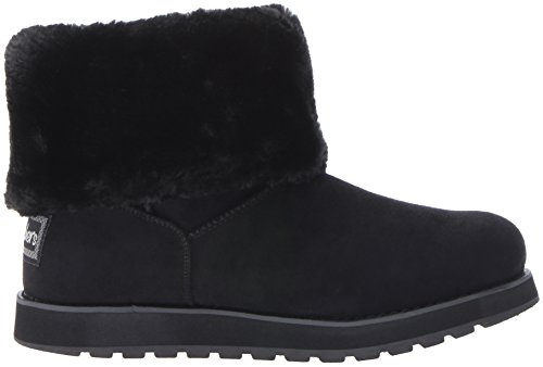 Skechers Womens Keepsakes-Short 2 Button Winter Boot Black