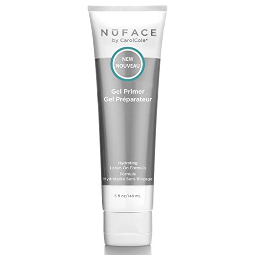 NuFACE Hydrating Leave-On Gel Primer | Use with NuFACE Device | Smooths Skin, Reduce Wrinkles | Lightweight Application | 5 fl. oz.