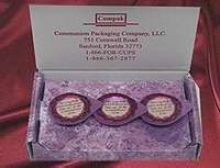 Celebration Cup 3 Prefilled Communion Cups - Visitation Pack