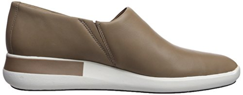 Women's Via Slip Sneaker Leather Malena Spiga Mink Fqq7W1Og