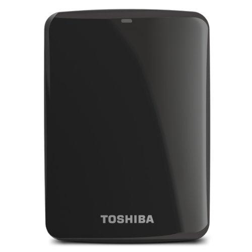 (Old Model) Toshiba Canvio Connect 2TB Portable Hard Drive, Black (HDTC720XK3C1) Toshiba Mac Hard Disk