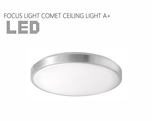 Plafoniere Da Esterno Comet : Focus light comet plafoniera a led lampada in camera