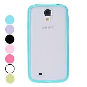 conseguir Caso duro del diseño Frosted encantador para Samsung Galaxy S4 i9500 (colores surtidos) , Púrpula