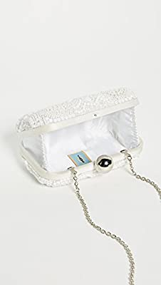 Santi Women's Box Clutch with Embroidered Beading