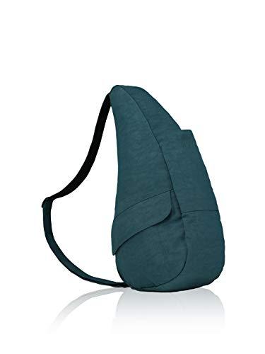 AmeriBag Classic Healthy Back Bag tote Distressed Nylon Medium (Lagoon)