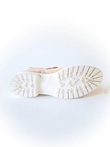 GAASTRA Damen Stiefel aus Kunstleder in Braun Größe 37