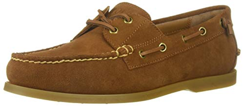 Polo Ralph Lauren Men's Merton Boat Shoe, New Snuff, 8.5 D US