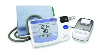 Measurement Printout Blood Pressure Monitor [BP DIG W-PRINTER AUTO INFL] [EA-1] by OMRON HEALTHCARE INC. (Image #1)