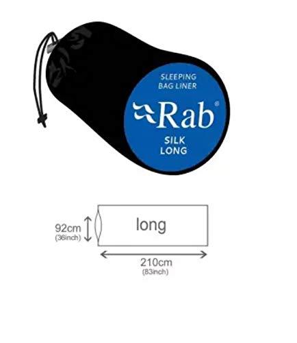 Rab Silk Sleeping Bag Liner - Long by RAB