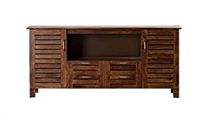 Aprodz Mango Wood Ligua Sideboard Storage Cabinet for Living Room